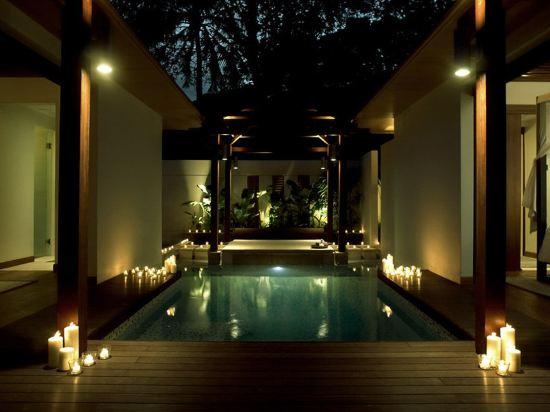 新加坡聖淘沙安曼納聖殿度假酒店(Amara Sanctuary Resort Sentosa)室內游泳池