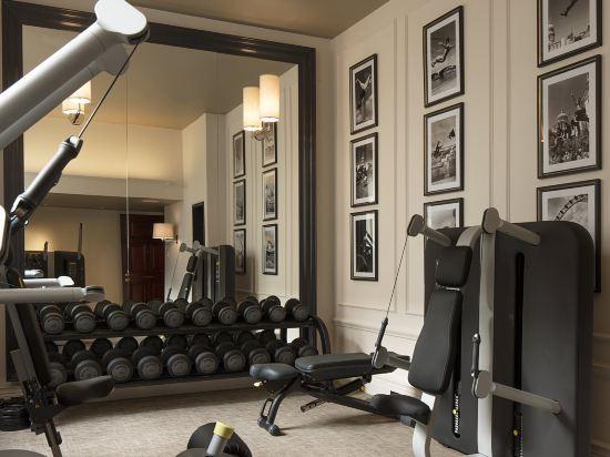 倫敦瑰麗酒店(Rosewood London)健身房