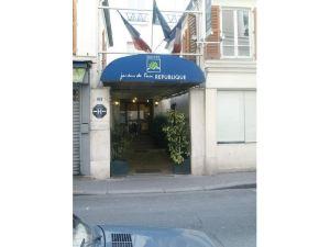 基里亞德巴黎10號聖馬丁運河共和國酒店(Kyriad Paris 10 - Canal Saint Martin - République)