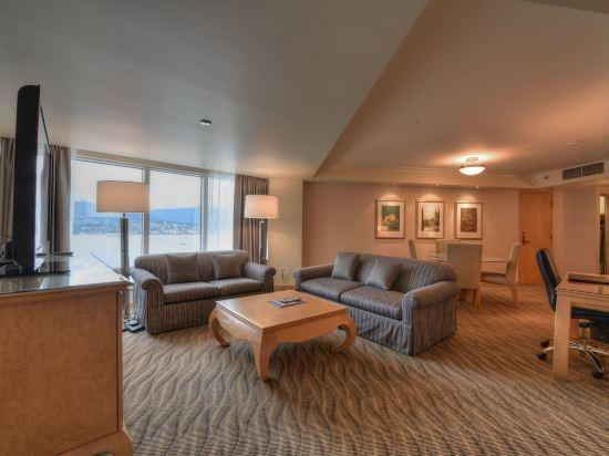 温哥華泛太平洋酒店(Pan Pacific Vancouver)灣景套房