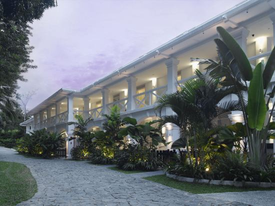 新加坡聖淘沙安曼納聖殿度假酒店(Amara Sanctuary Resort Sentosa)直達泳池雙人套房