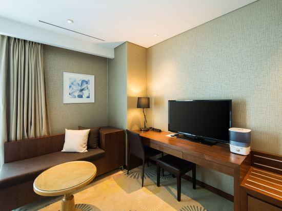 釜山索拉利亞西鐵酒店(Solaria Nishitetsu Hotel Busan)高級雙床房