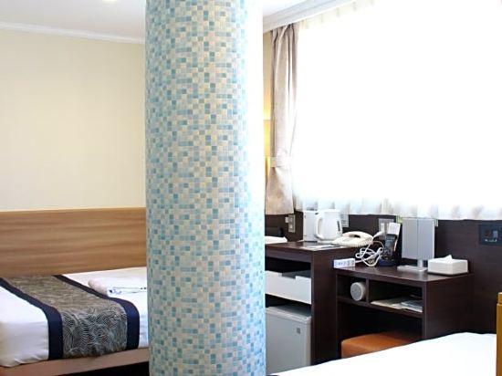 道頓堀酒店(Dotonbori Hotel)經濟雙床房