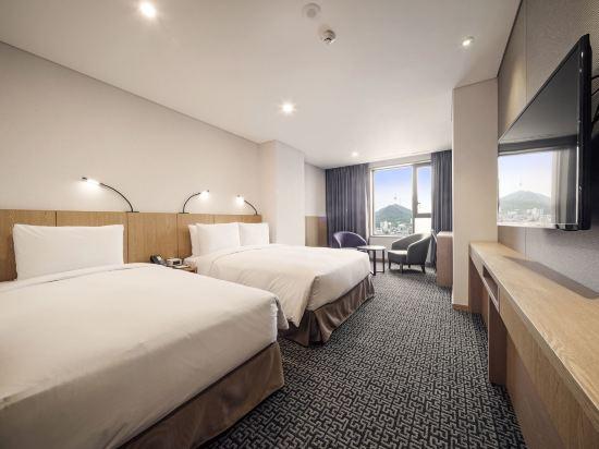 首爾帝馬克豪華酒店明洞(Tmark Grand Hotel Myeongdong)家庭雙床房