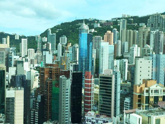 香港蘭桂坊(九如坊)(酒店)(Lan Kwai Fong Hotel Kau U Fong)豪華海景客房