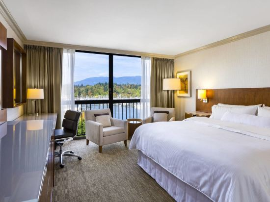 海柏温哥華威斯汀酒店(The Westin Bayshore Vancouver)豪華灣景雙人床房