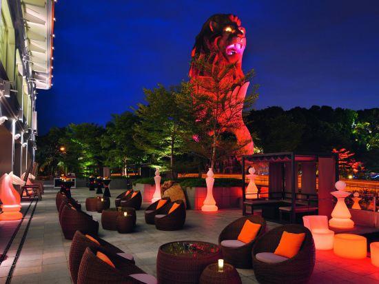 新加坡聖淘沙艾美酒店(Le Méridien Singapore, Sentosa)公共區域
