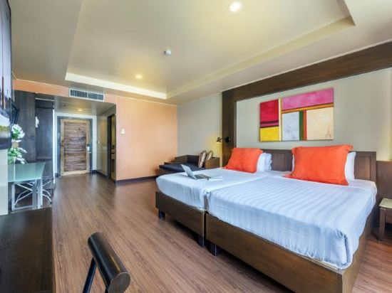 曼谷查達酒店(Bangkok Cha-Da Hotel)豪華房