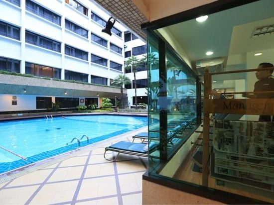 曼谷亞洲酒店(Asia Hotel Bangkok)室內游泳池