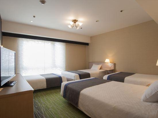 京都新阪急酒店(Hotel New Hankyu Kyoto)高級三人房
