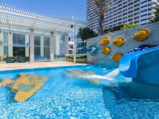 芭堤雅假日酒店(Holiday Inn Pattaya)室外游泳池