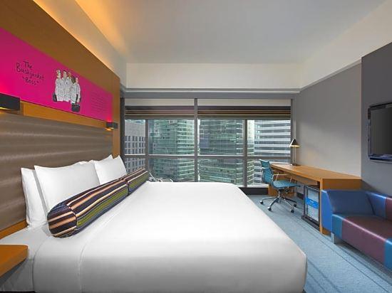 吉隆坡中環廣場雅樂軒酒店(Aloft Kuala Lumpur Sentral)轉角特大床房