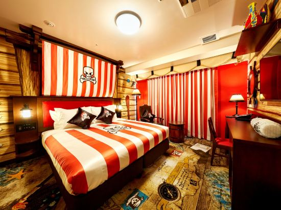 日本樂高樂園酒店(Legoland Japan Hotel)升級版海盜主題甄選房