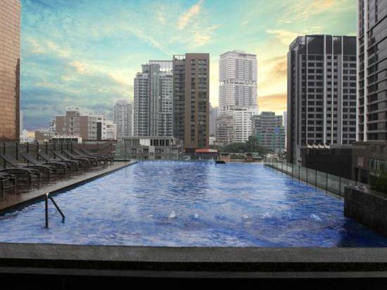曼谷天空風景酒店(Compass SkyView Hotel Bangkok)室外游泳池