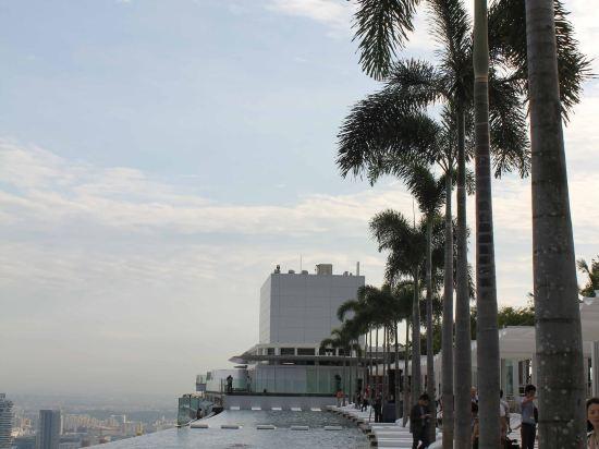 新加坡濱海灣金沙酒店(Marina Bay Sands)外觀