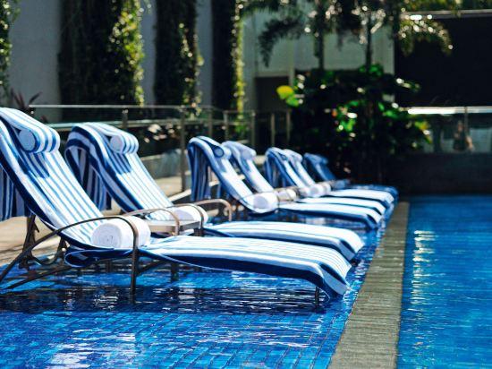 新加坡聖淘沙艾美酒店(Le Méridien Singapore, Sentosa)室外游泳池