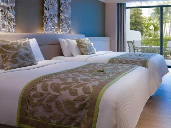新加坡香格里拉聖淘沙度假酒店(Shangri-La's Rasa Sentosa Resort & Spa)園景豪華房
