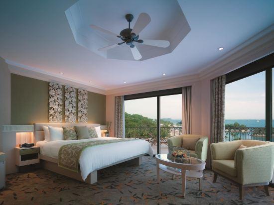 新加坡香格里拉聖淘沙度假酒店(Shangri-La's Rasa Sentosa Resort & Spa)全景套房