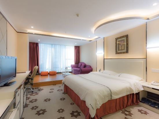 金域酒店(珠海拱北口岸步行街店)(Jin Yu Hotel (Zhuhai Gongbei Port Pedestrian Street))商務大床房