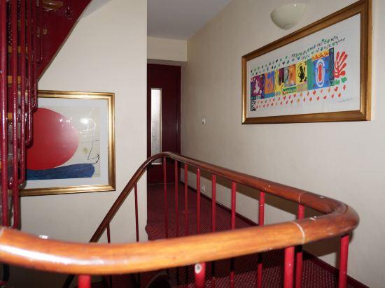 巴黎蒙馬特貝爾維尤酒店(Hôtel Bellevue Montmartre Paris)公共區域