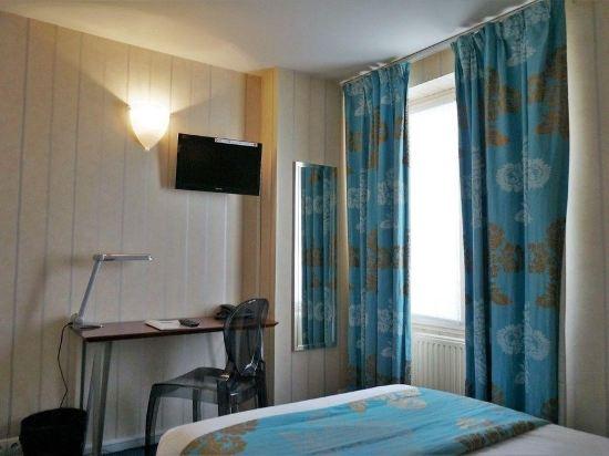 巴黎蒙馬特貝爾維尤酒店(Hôtel Bellevue Montmartre Paris)單人房
