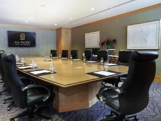 温哥華泛太平洋酒店(Pan Pacific Vancouver)會議室
