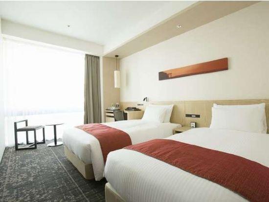 新宿花JR九州酒店(Jr Kyushu Hotel Blossom Shinjuku)雙床房