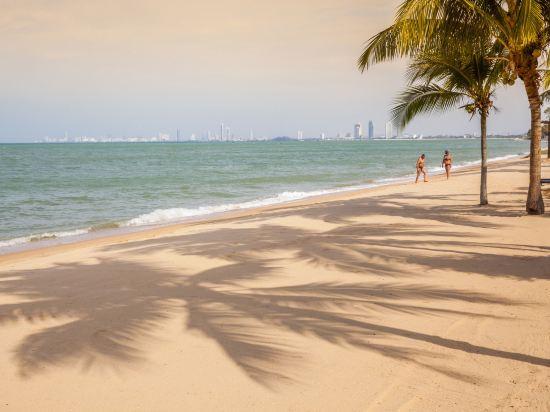 大海沙灘陽光度假酒店(Sea Sand Sun Resort and Villas)私人海灘