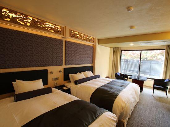 京都雅然居酒店(祇園)(Hotel Alza Kyoto)舒適雙床房