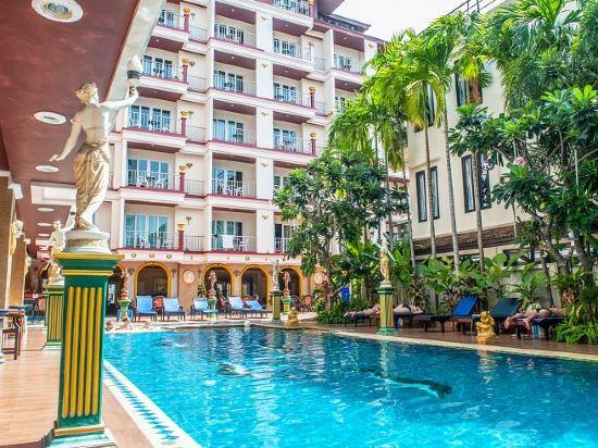 芭堤雅麗塔度假村及公寓(Rita Resort and Residence Pattaya)室外游泳池