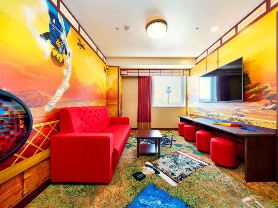 日本樂高樂園酒店(Legoland Japan Hotel)景觀忍者主題套房