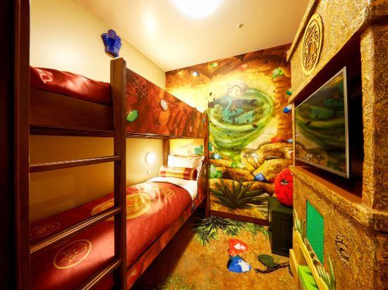 日本樂高樂園酒店(Legoland Japan Hotel)忍者主題甄選房