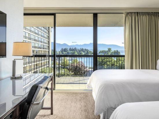 海柏温哥華威斯汀酒店(The Westin Bayshore Vancouver)2張雙人床一室套房