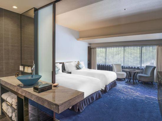 京都翠嵐豪華精選酒店(Suiran, a Luxury Collection Hotel, Kyoto)水月雙床中型客房