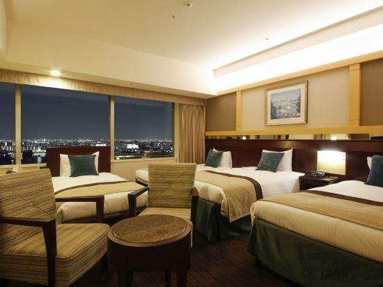 京阪環球塔酒店(Hotel Keihan Universal Tower)高級四人房
