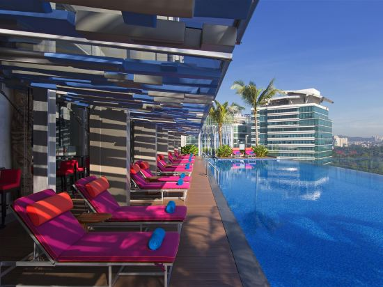 吉隆坡中環廣場雅樂軒酒店(Aloft Kuala Lumpur Sentral)室外游泳池