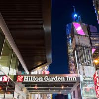 時代廣場中心希爾頓花園酒店酒店預訂