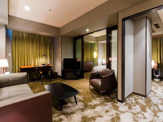 東京汐留皇家花園酒店(The Royal Park Hotel Tokyo Shiodome)精緻雙床套房-Barbara Barry-IDC OTSUKA設計(概念樓層)