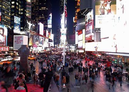 時代廣場中心歡朋酒店(Hampton Inn Times Square Central)外觀