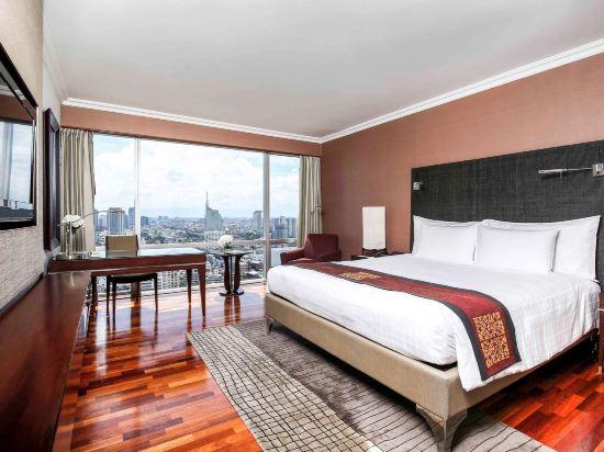 曼谷鉑爾曼大酒店(Pullman Bangkok Hotel G)尊貴豪華房