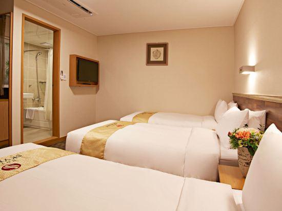 天空花園酒店明洞1號店(Hotel Skypark Myeongdong 1)三人房