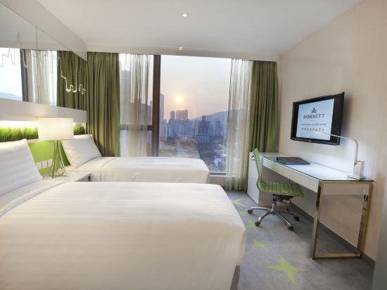 香港荃灣帝盛酒店(Dorsett Tsuen Wan)豪華客房