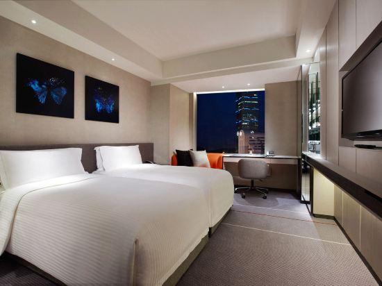 台北寒舍艾麗酒店(Humble House Taipei)景隅精緻客房雙床房