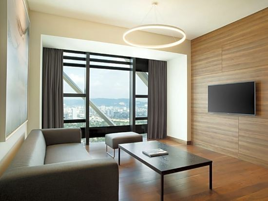 吉隆坡源宿酒店(Element Kuala Lumpur by Westin)天際線一室套房