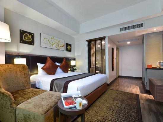 康帕斯酒店集團素坤逸11巷瑞士大酒店(Grand Swiss Sukhumvit 11 by Compass Hospitality)豪華房