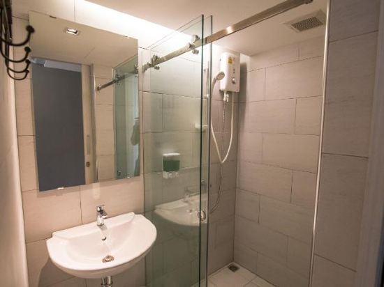 素坤逸膠囊22號旅舍(Sleepbox Sukhumvit 22 Hostel)私人雙人宿舍(帶私人浴室)