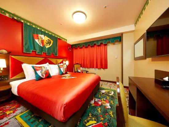 日本樂高樂園酒店(Legoland Japan Hotel)王國主題房