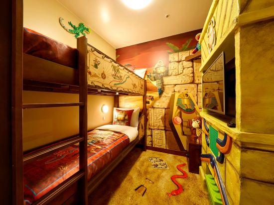日本樂高樂園酒店(Legoland Japan Hotel)升級版景觀探險主題甄選房