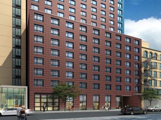 紐約時代廣場西希爾頓逸林酒店(Doubletree by Hilton New York Times Square West)外觀