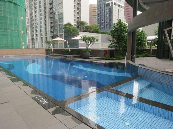 新加坡卡爾頓城市酒店(Carlton City Hotel Singapore)室外游泳池